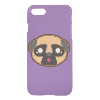 Kawaii funny pug iphone case