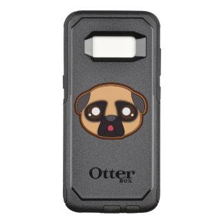 Kawaii funny pug otterbox OtterBox commuter samsung galaxy s8 case