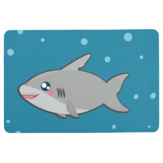 Kawaii funny shark floormat floor mat