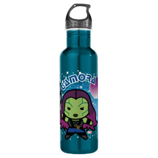 Kawaii Gamora In Space 710 Ml Water Bottle