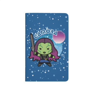 Kawaii Gamora In Space Journal