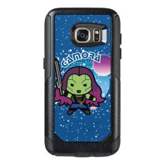 Kawaii Gamora In Space OtterBox Samsung Galaxy S7 Case