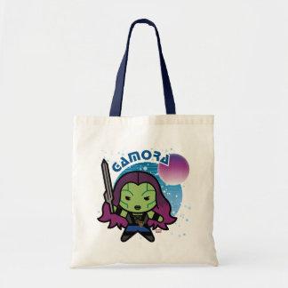 Kawaii Gamora In Space Tote Bag