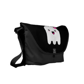Kawaii ghost courier bags