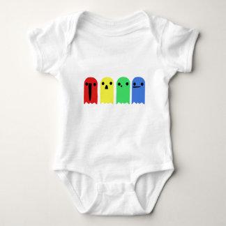 Kawaii Ghosts Baby Bodysuit