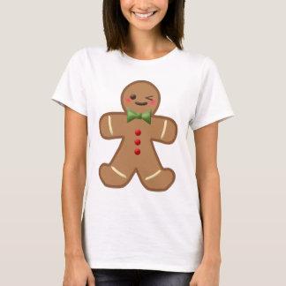Kawaii Gingerbread Man T-Shirt