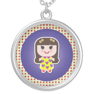 Kawaii Girl Cute Girl Personalized Necklace