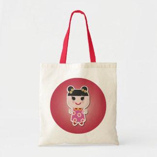 Kawaii Girl Cute Girl Tote Bag