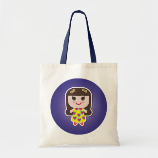 Kawaii Girl Cute Girl Canvas Bags