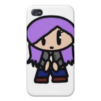 Kawaii Girl Iphone Case iPhone 4 Covers