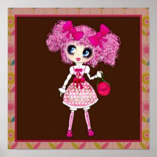 Kawaii Girl PinkP sweet loli Poster