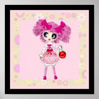 Kawaii Girl PinkyP so sweet Poster