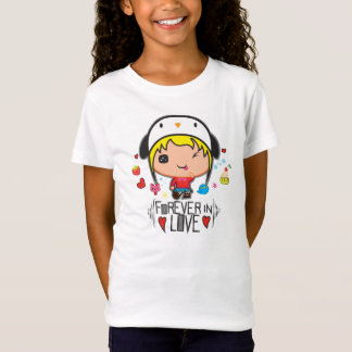 Kawaii girl's tshirt