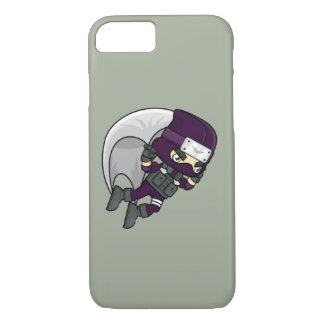 Kawaii Gliding Ninja Boy iPhone 7 Case