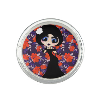 Kawaii Gothic Lolita ArtDeco girl
