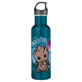 Kawaii Groot In Space 710 Ml Water Bottle