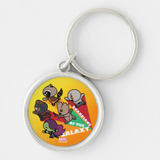 Kawaii Guardians of the Galaxy Group Jump Key Ring