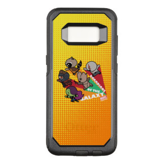 Kawaii Guardians of the Galaxy Group Jump OtterBox Commuter Samsung Galaxy S8 Case