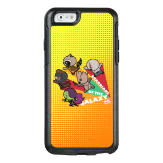 Kawaii Guardians of the Galaxy Group Jump OtterBox iPhone 6/6s Case
