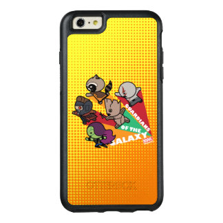 Kawaii Guardians of the Galaxy Group Jump OtterBox iPhone 6/6s Plus Case