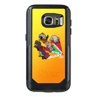 Kawaii Guardians of the Galaxy Group Jump OtterBox Samsung Galaxy S7 Case