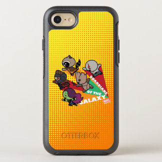 Kawaii Guardians of the Galaxy Group Jump OtterBox Symmetry iPhone 8/7 Case