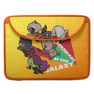 Kawaii Guardians of the Galaxy Group Jump Sleeve For MacBook Pro