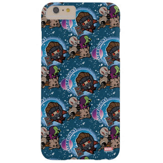 Kawaii Guardians of the Galaxy Pattern Barely There iPhone 6 Plus Case