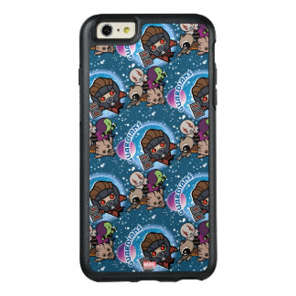 Kawaii Guardians of the Galaxy Pattern OtterBox iPhone 6/6s Plus Case