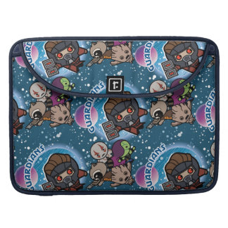 Kawaii Guardians of the Galaxy Pattern Sleeve For MacBooks