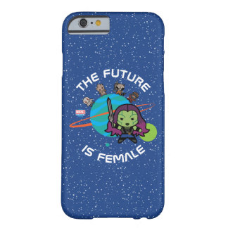 Kawaii Guardians of the Galaxy Planet Graphic Barely There iPhone 6 Case