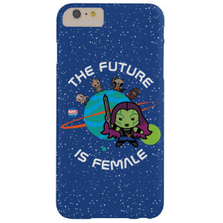 Kawaii Guardians of the Galaxy Planet Graphic Barely There iPhone 6 Plus Case