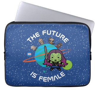 Kawaii Guardians of the Galaxy Planet Graphic Laptop Sleeve