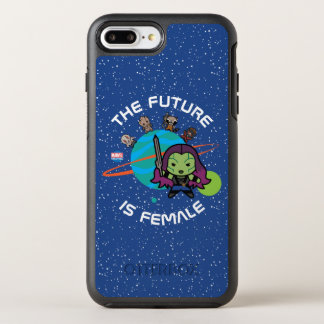 Kawaii Guardians of the Galaxy Planet Graphic OtterBox Symmetry iPhone 8 Plus/7 Plus Case