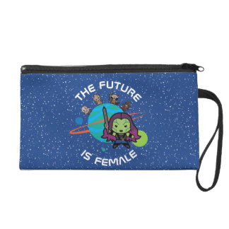 Kawaii Guardians of the Galaxy Planet Graphic Wristlet