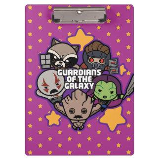 Kawaii Guardians of the Galaxy Star Graphic Clipboard