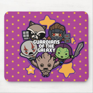 Kawaii Guardians of the Galaxy Star Graphic Mouse Mat
