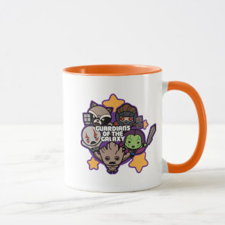 Kawaii Guardians of the Galaxy Star Graphic Mug