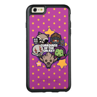 Kawaii Guardians of the Galaxy Star Graphic OtterBox iPhone 6/6s Plus Case