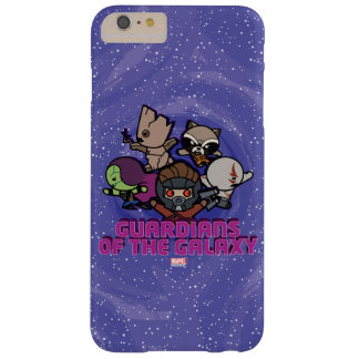 Kawaii Guardians of the Galaxy Swirl Graphic Barely There iPhone 6 Plus Case
