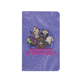Kawaii Guardians of the Galaxy Swirl Graphic Journal