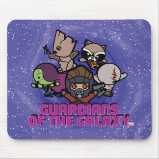 Kawaii Guardians of the Galaxy Swirl Graphic Mouse Mat