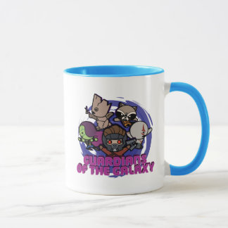 Kawaii Guardians of the Galaxy Swirl Graphic Mug