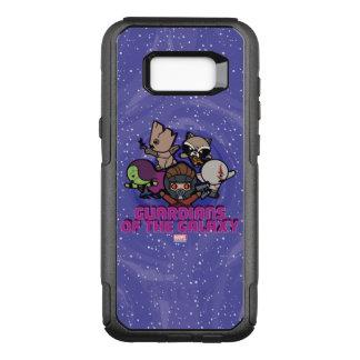 Kawaii Guardians of the Galaxy Swirl Graphic OtterBox Commuter Samsung Galaxy S8+ Case