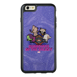 Kawaii Guardians of the Galaxy Swirl Graphic OtterBox iPhone 6/6s Plus Case