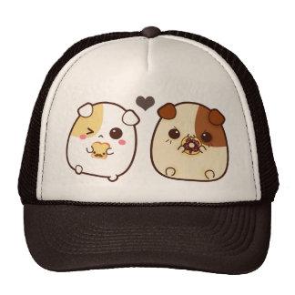 Kawaii guinea pigs hat
