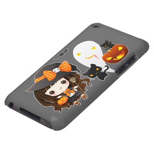 Kawaii Halloween iPod Case-Mate Case