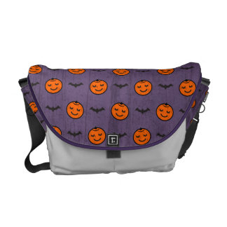 Kawaii Halloween Pumpkin Pattern Courier Bags