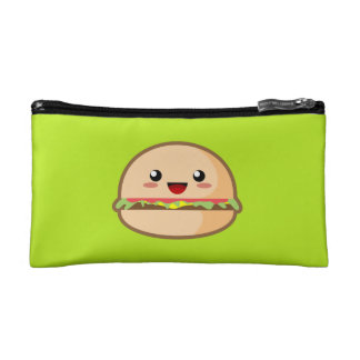 Kawaii Hamburger Makeup Bags