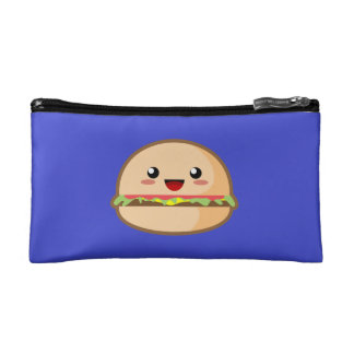 Kawaii Hamburger Cosmetic Bags